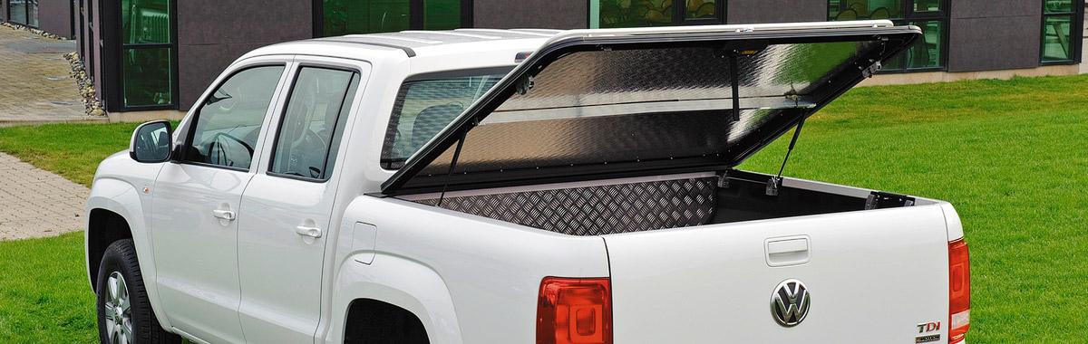 Pickup-lavakatteet ja varusteet