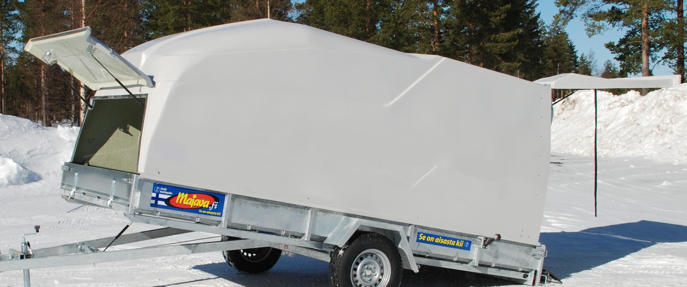 glasfiberkåpa till släpvagn